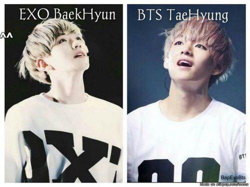 Baekhyun is dating taehyung from bts