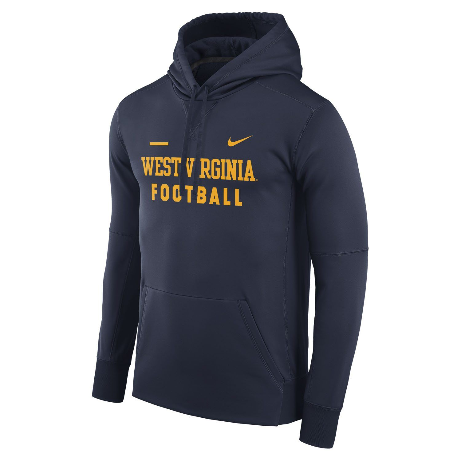 c42e106a115c Show your love of West Virginia Football in our Therma-FIT hoodie from Nike  Team Sports