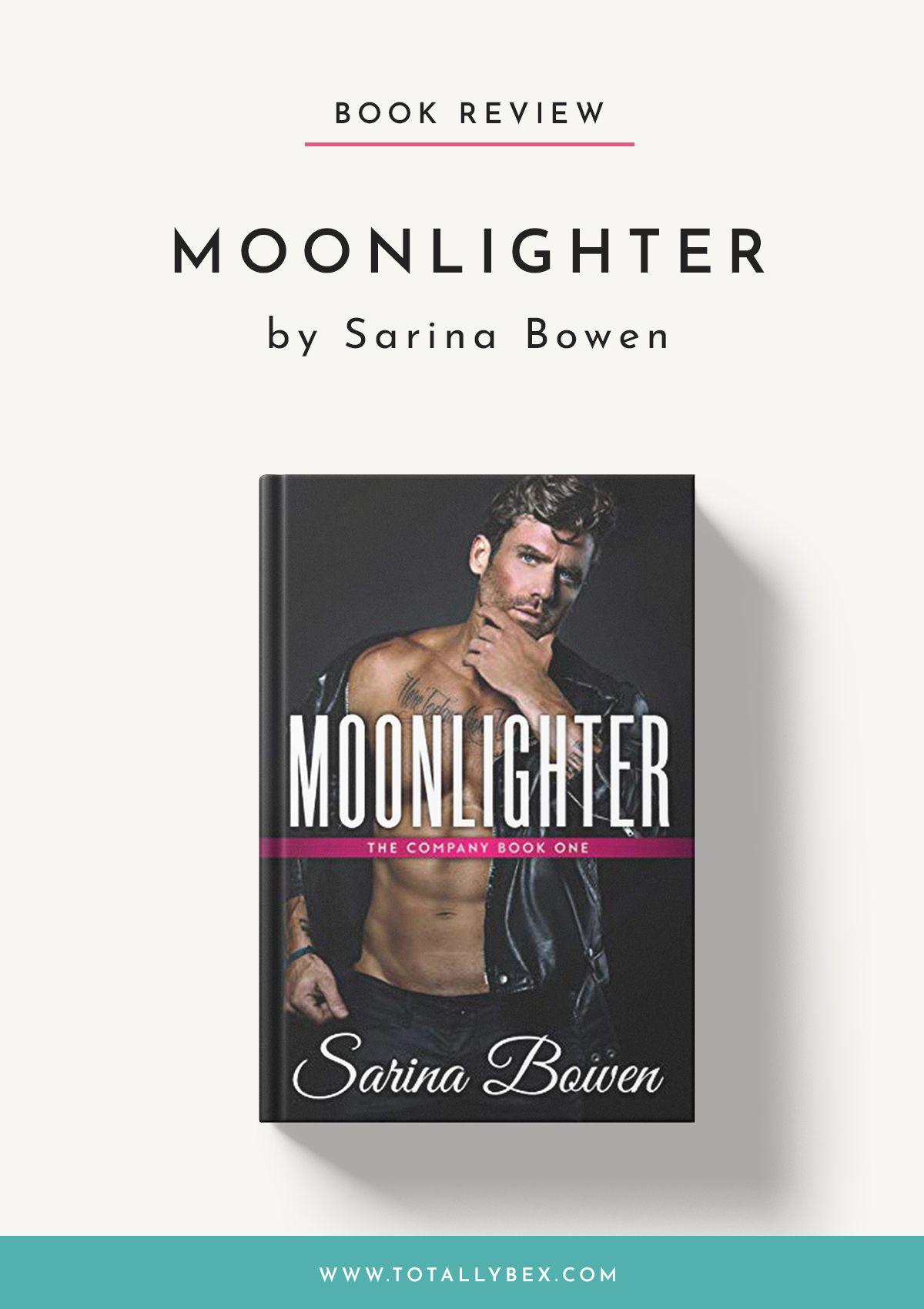 Moonlighter by Sarina Bowen More Than Just a Hockey