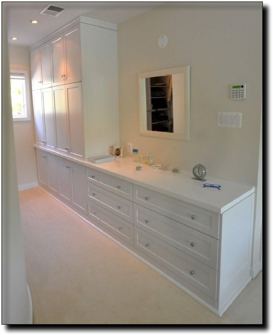 Bedroom Built In Cabinets this is a good idea for the Murphy bed ...