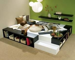 bett aus kallax anleitung google suche bed room pinterest ikea hack bed room and room. Black Bedroom Furniture Sets. Home Design Ideas