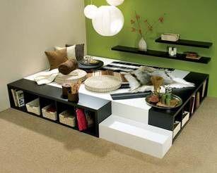 Bett Aus Kallax Anleitung Google Suche Furniture And Home Stuff