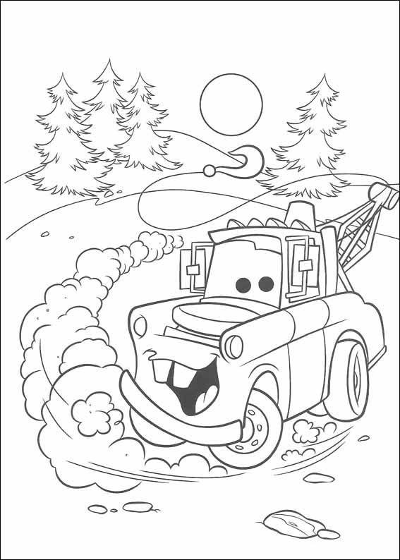 Dibujos para imprimir y pintar para niños Cars 55 | Dibujos en ...