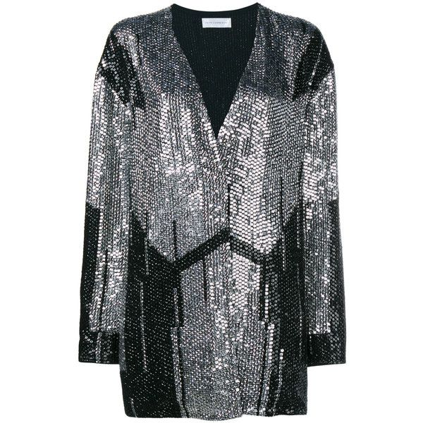 Faith Connexion Oversized Sequin Cardigan (£1,365) ❤ liked on ...