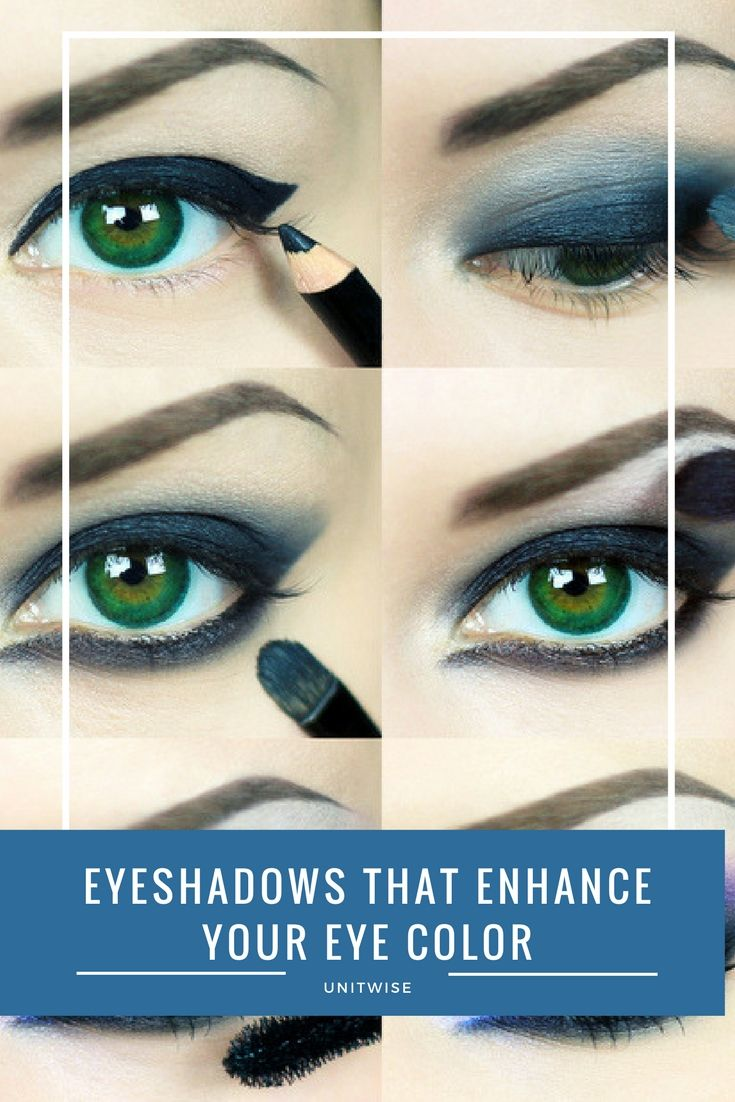 Finding the perfect eyeshadow to enhance your eye color is