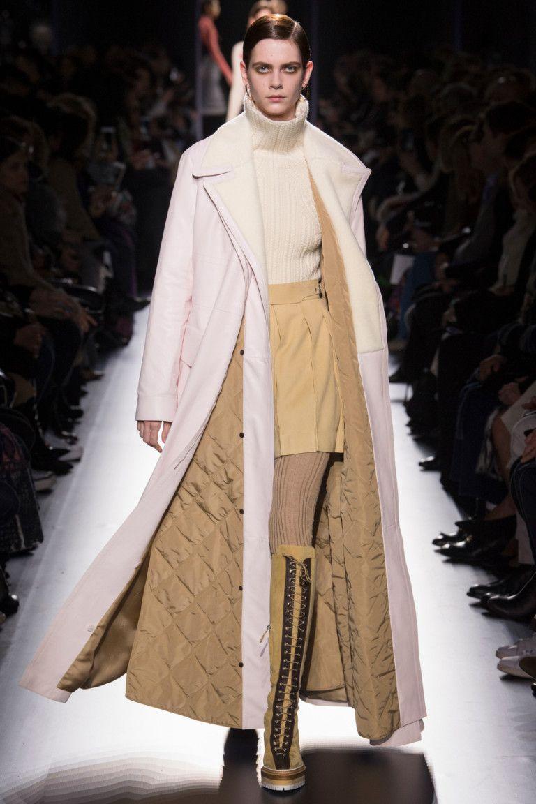 Hermès коллекция   Коллекции осень-зима 2017/2018   Париж   VOGUE / пальто