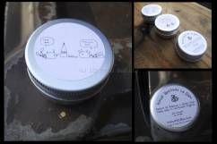 Love You Lip balm. Hazel Beeswax long- lasting honey lip balm. UK made