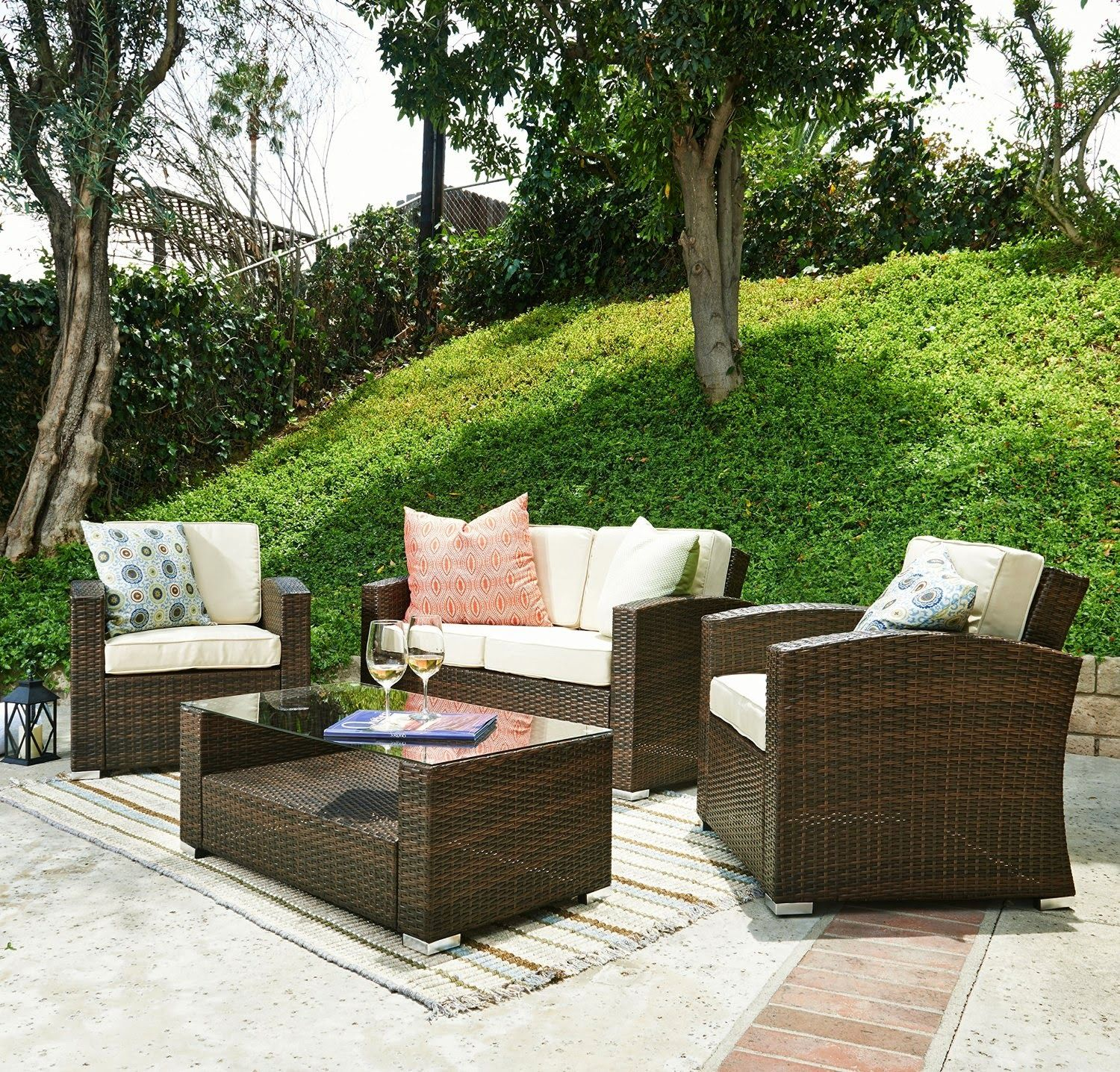 Discount Special Sale off for Outdoor Furniture Sofa 4pcs