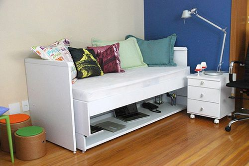 Image Result For Sofa That Turns Into A Desk