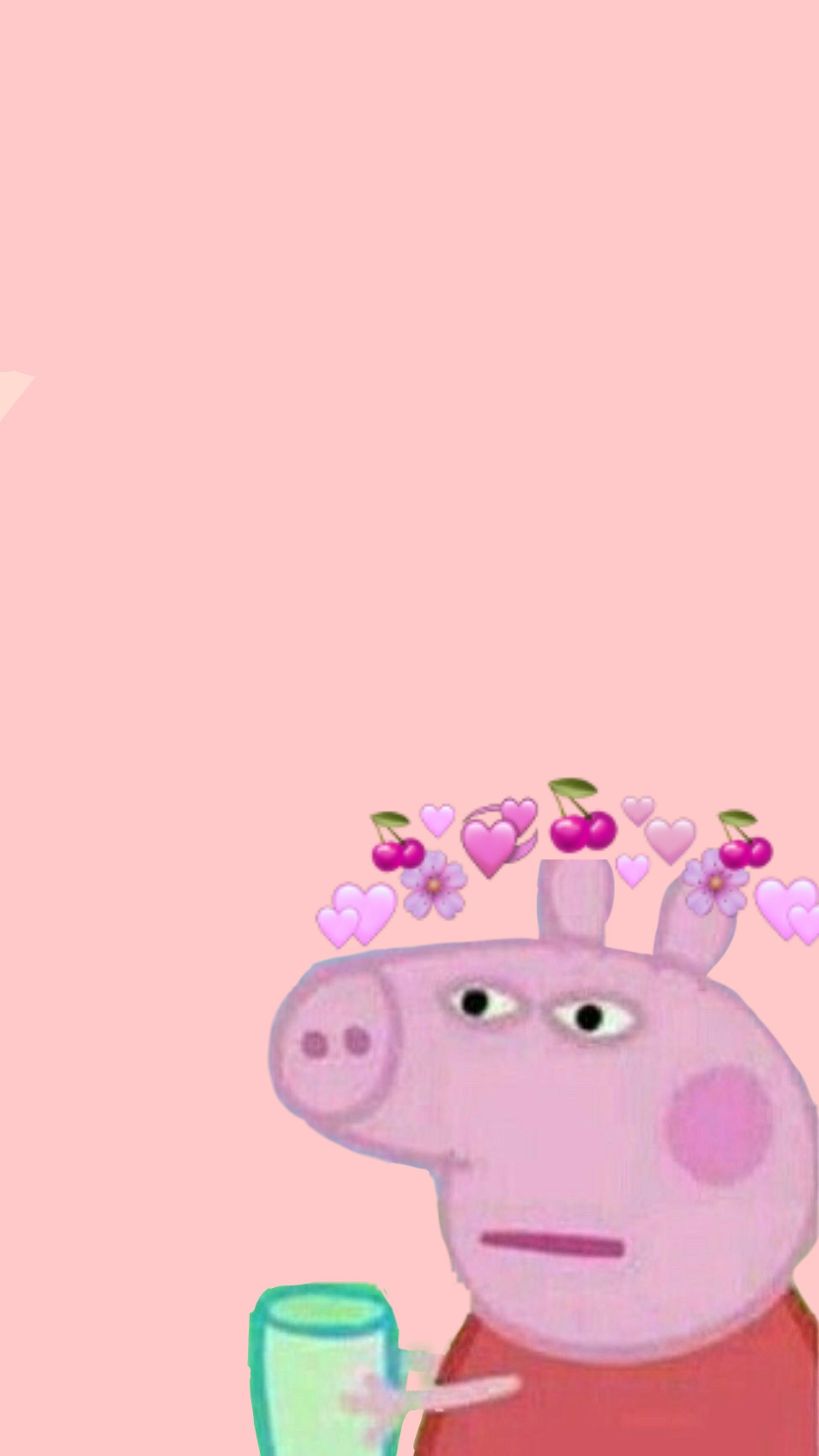 peppapig Funny iphone wallpaper, Funny phone wallpaper