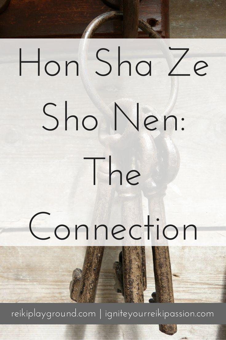 Hon Sha Ze Sho Nen The Connection Pinterest Reiki Symbols