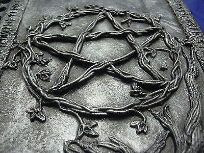Silver Pentagram Journal , sketch book , diary, book of shadows - pagan gift