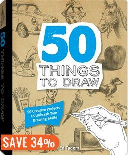 50 THINGS TO DRAW Book by Tadem Ed | Hardcover | chapters.indigo.ca