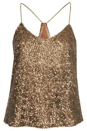 6d905a15b5f109   Clayton Sequin Vest Top by Goldie