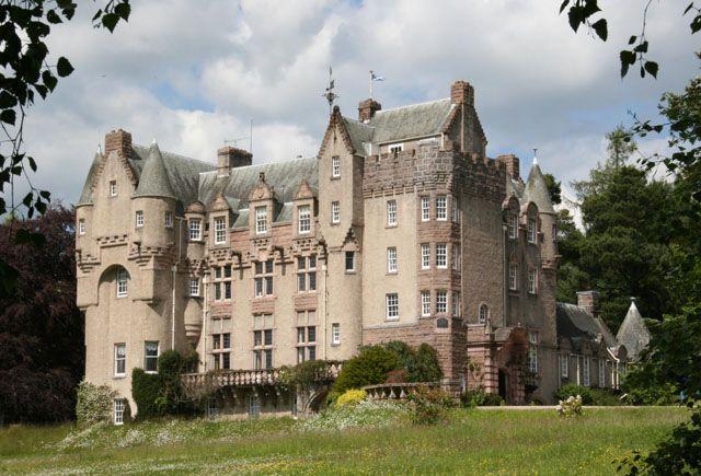 Kincardine Castle Aberdeenshire Scotland Was Built In 1894 96