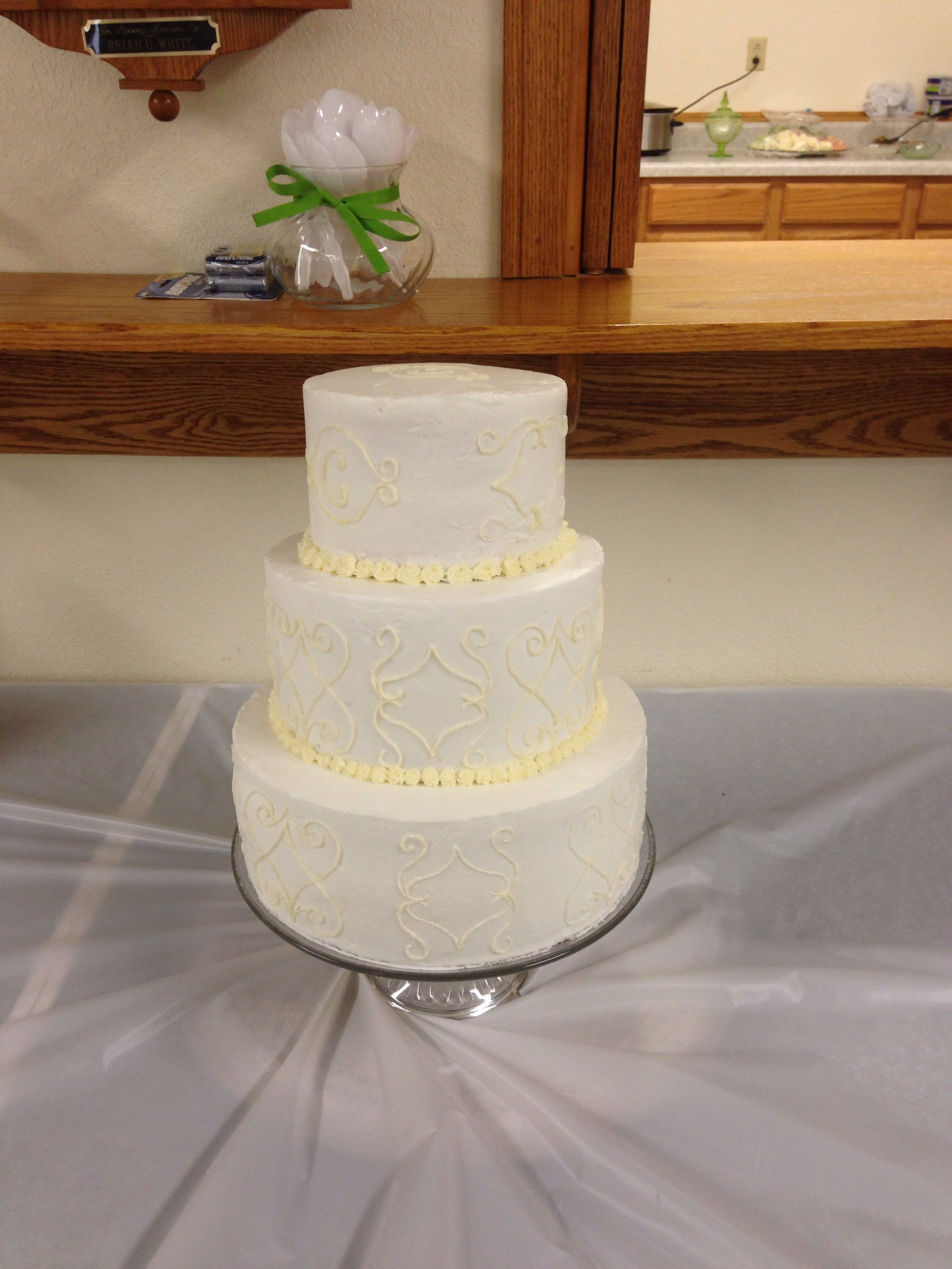 Steph's wedding cake