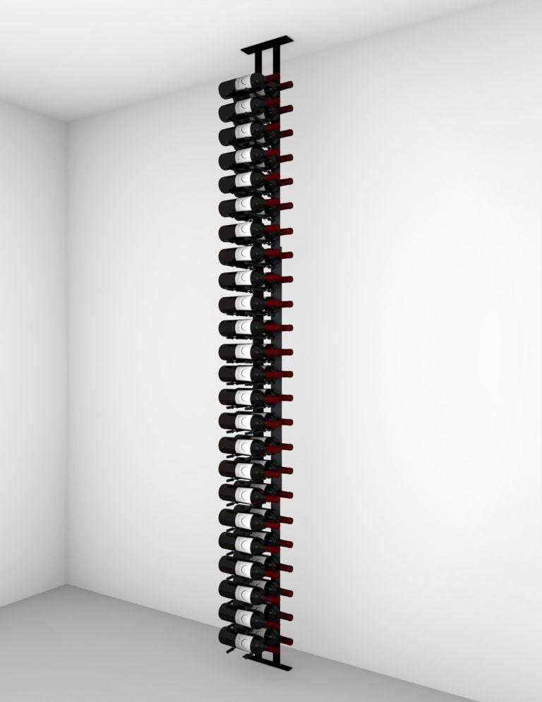 Floor To Ceiling Mounted Wine Rack