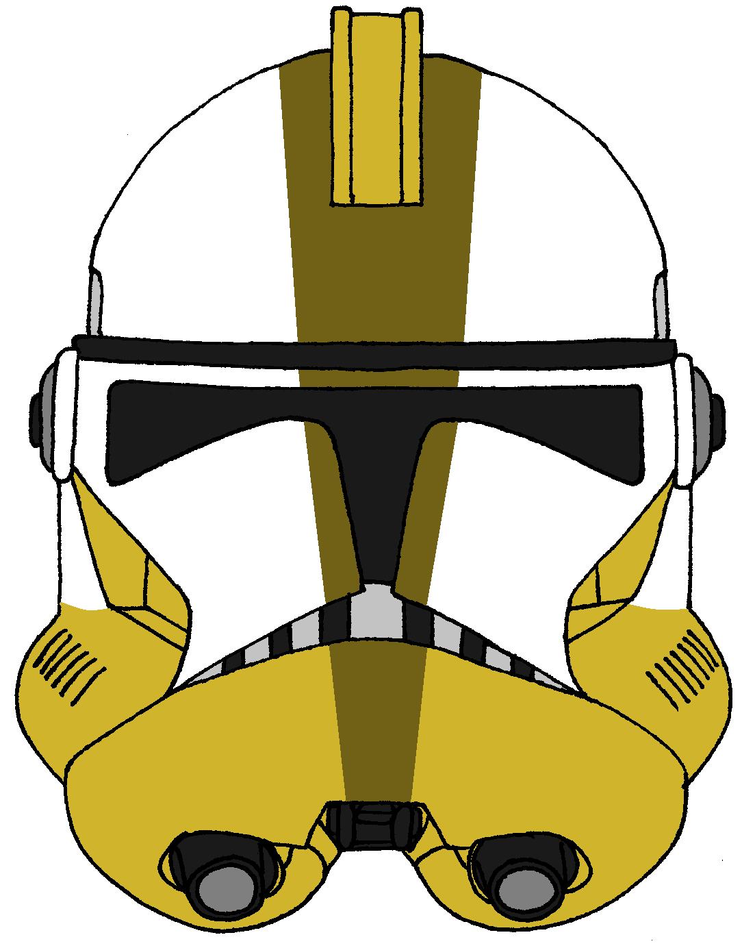 Clone Trooper Commander Bly Helmet  2