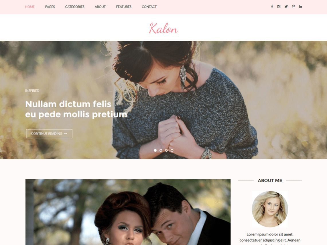 This Is A Curated List Of Best And Free Wordpress Wedding Themes