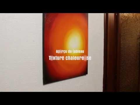 Aperçu #vidéo de la #peinture  #Texture #chaleureuse #youtube