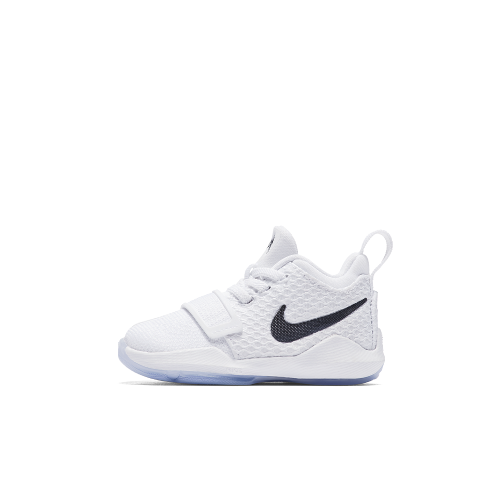 4a038e905622 Nike PG 1 Infant Toddler Shoe Size 10C (White) - Clearance Sale ...