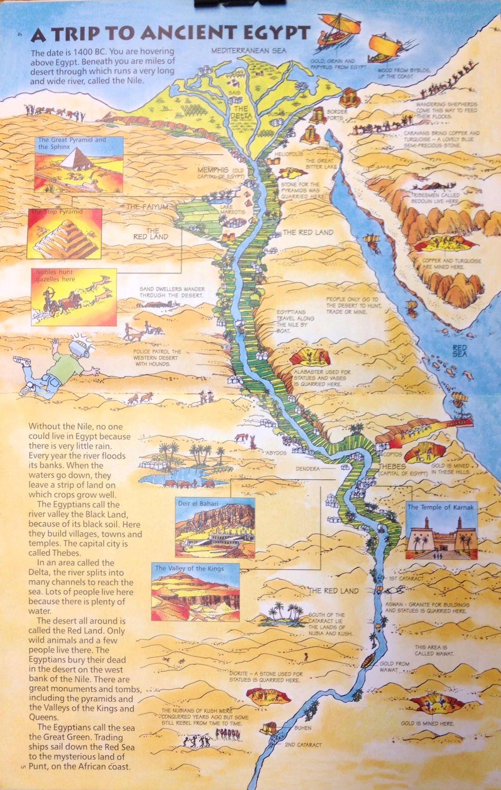 Ancient Egypt Map Ancient egypt map, Egypt, Egypt map