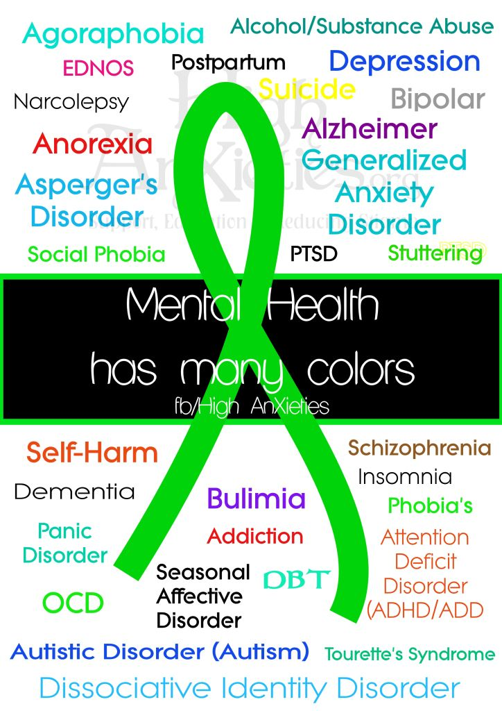 Mental Health Has Many Colors Mental Health Mental Health