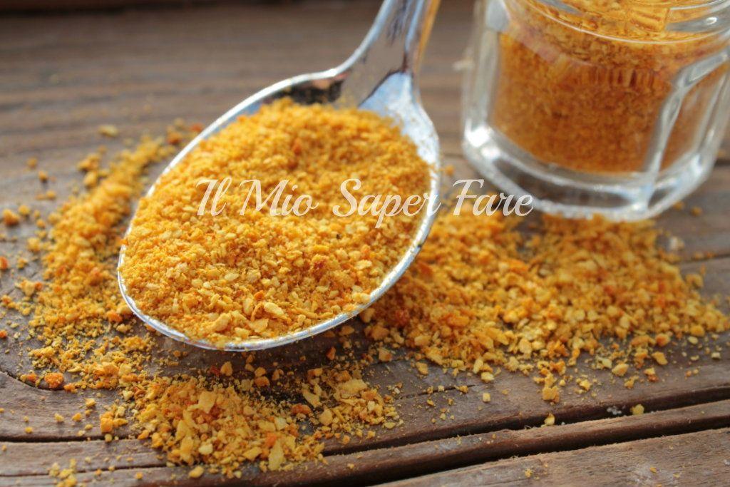 buccia di arancia essiccata