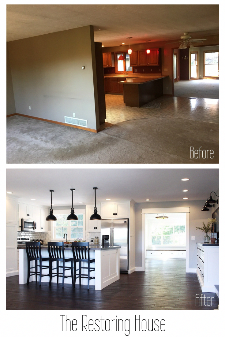 A whole house renovation. A post loaded with before and after