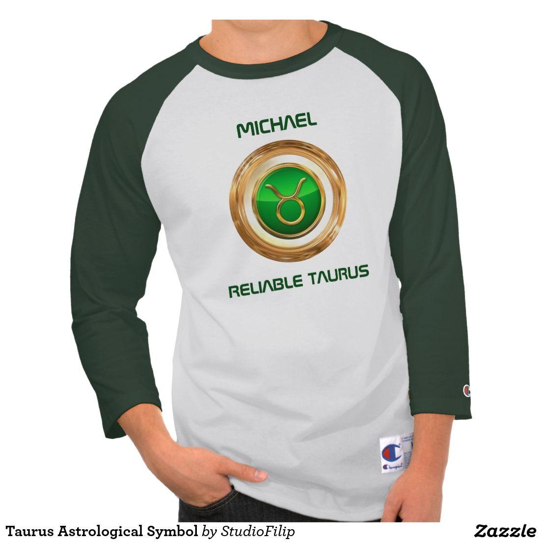Taurus Astrological Symbol T Shirt Astrological Symbols Taurus
