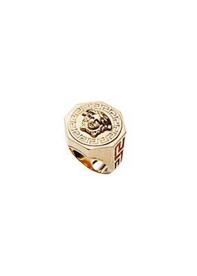Versace  Ring Medusa und Greca  Mens jewelry  Ringe und Schmuck