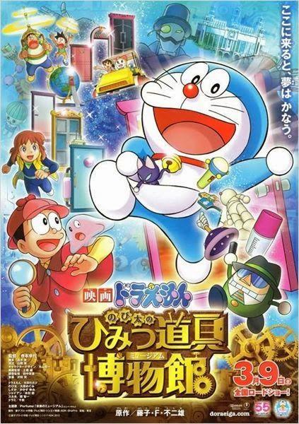 Ver Online Doraemon Y Nobita Holmes En El Misterioso Museo Del Futuro Espanol Latino 2013 El Mejor C Doraemon El Gato Cosmico Doraemon El Gato Cosmico