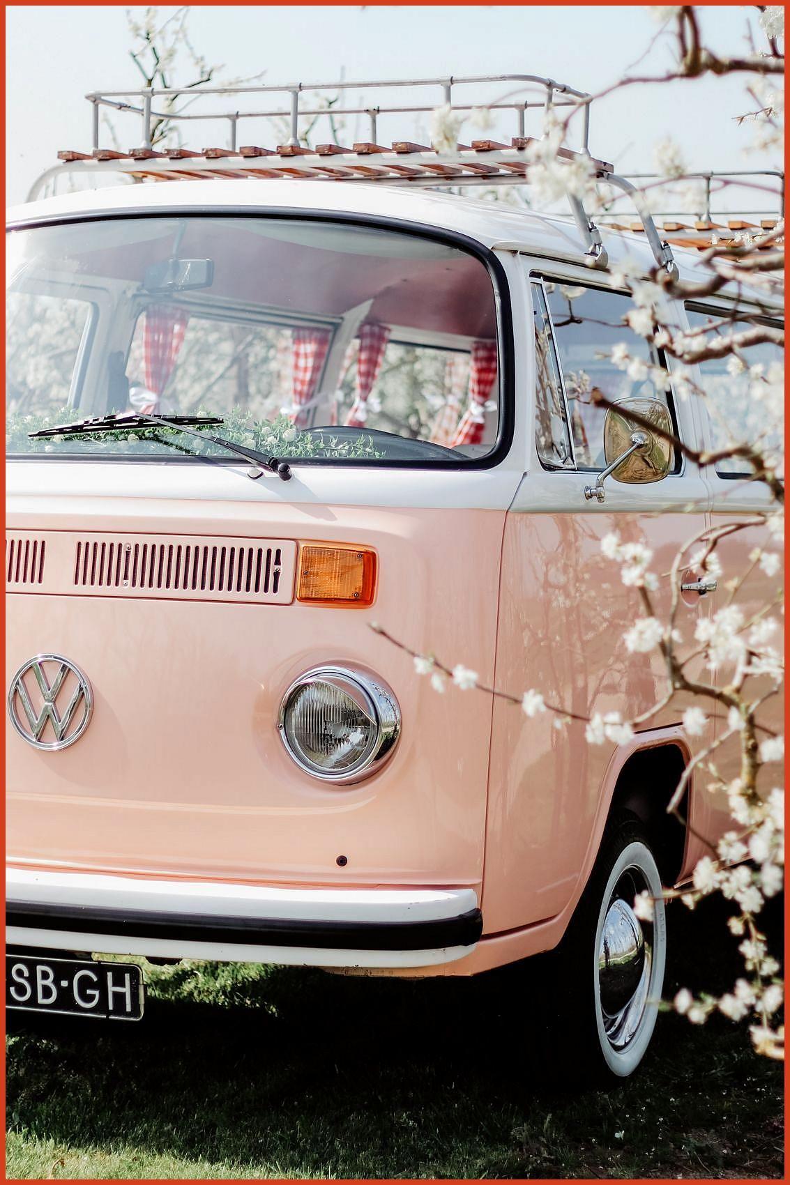 Pink Vw Van Bus In 2020 Vw Van Van Life Volkswagen Bus