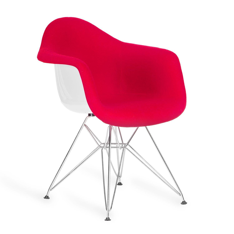 Inspirada en la silla daw de charles ray eames la estructura de las patas est basada en la - Arreglar silla oficina se queda baja ...