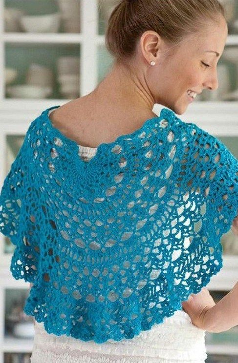 Crochet cape — Crochet by Yana | Needlework: caps, scarfs, palatines ...