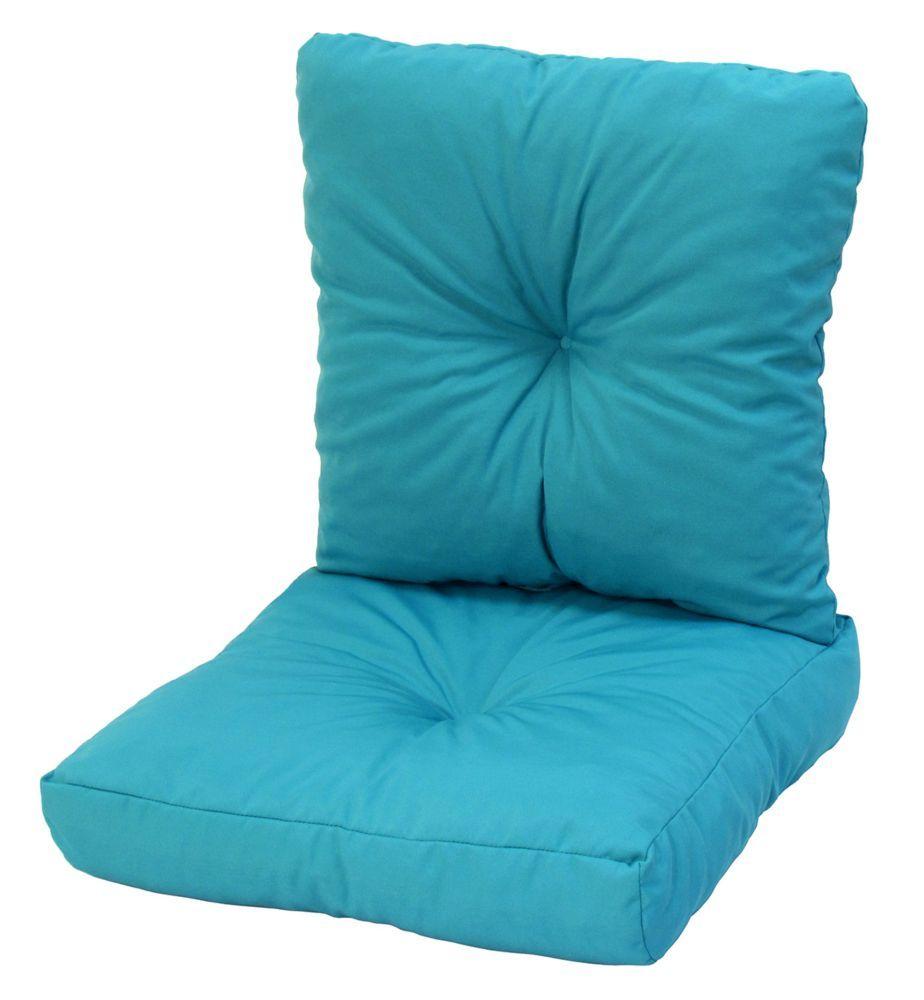 x x inch deep seat cushion in turquoise deep seat cushions