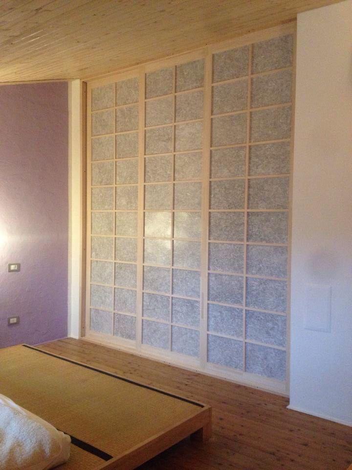 Parete carta di riso per armadio a muro | Armadi a muro | House ...