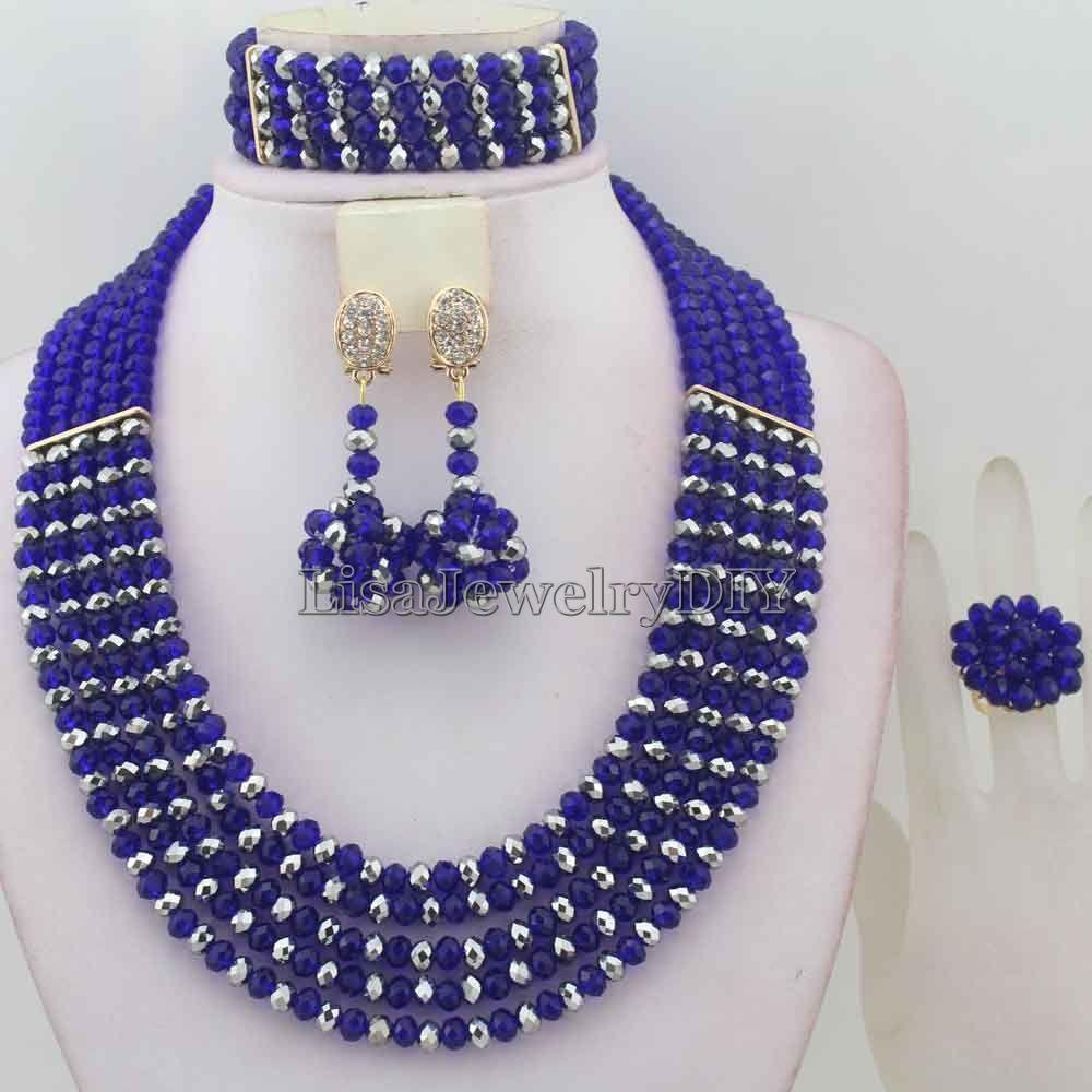 Wedding decorations nigeria  Click to Buy ucuc Classic Nigerian Wedding African Beads Jewelry Set
