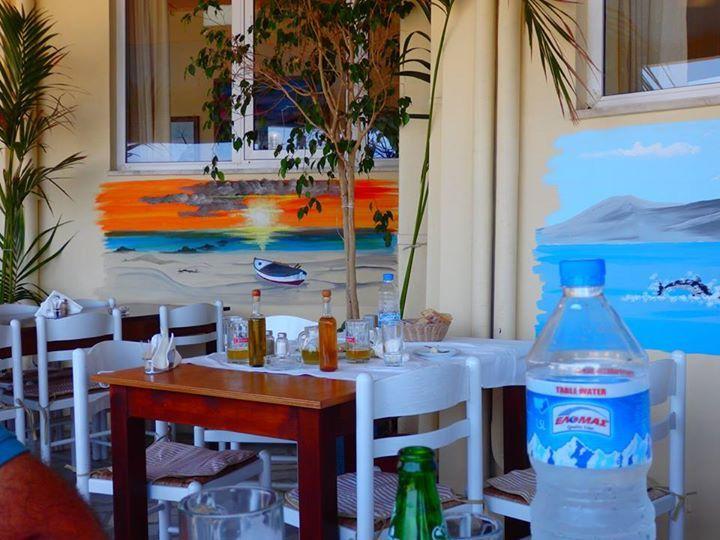 Organically Cooked The Greek Collection Achilleas Seafood Taverna Axilleas Psarotaberna Nea Xwra Happy Memories Greek Sink
