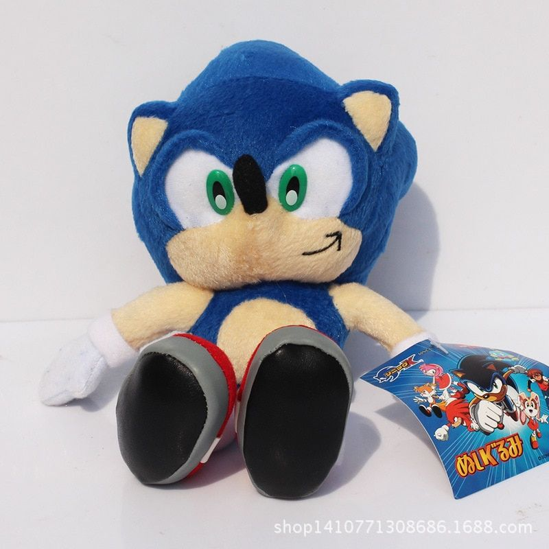 Hot Cute 1pcs 23cm Sonic The Hedgehog Plush Toys Ultimate Flash Sonic Hedgehog Plush Soft Stuffed Animal Doll Good Gift For Kids In 2020 Cool Gifts For Kids Soft Stuffed Animals