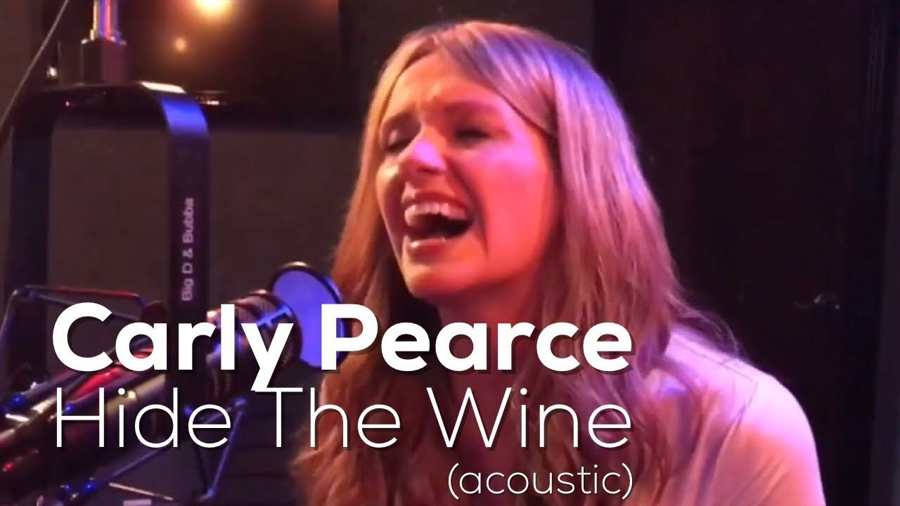 Carly Pearce Hide The Wine Https Www Youtube Com Watch Feature Youtu Be Utm Campaign Crowdfire Utm Content Crowdfi Carly Country Music Country Songs