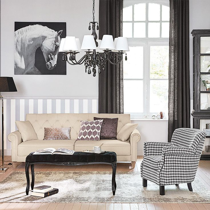 furniture decoration classic chic houses of the. Black Bedroom Furniture Sets. Home Design Ideas