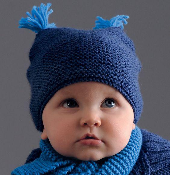 modele tricot gratuit bonnet enfant