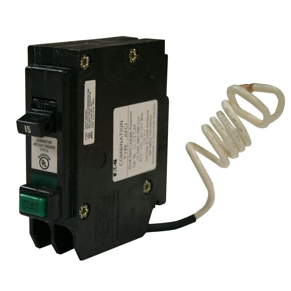 Eaton Cl115caf Plugin Mount Type Cl Arc Fault Circuit Breaker 1pole 15 Amp 120 240 Volt Ac To View Further For This Item Visit The I Breakers Eaton Circuit