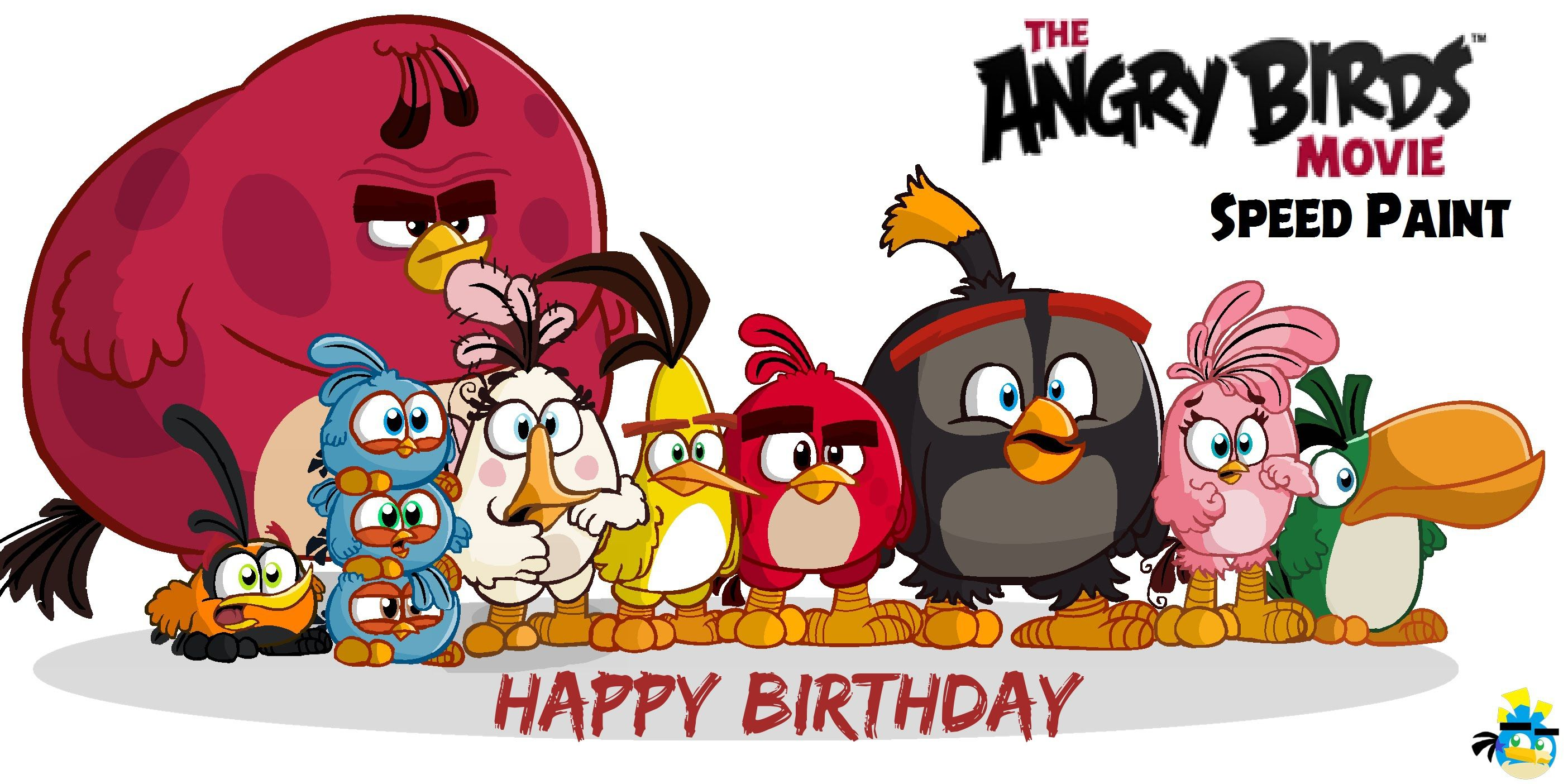 Angry Birds Movie Birthday With Images Angry Birds Angry