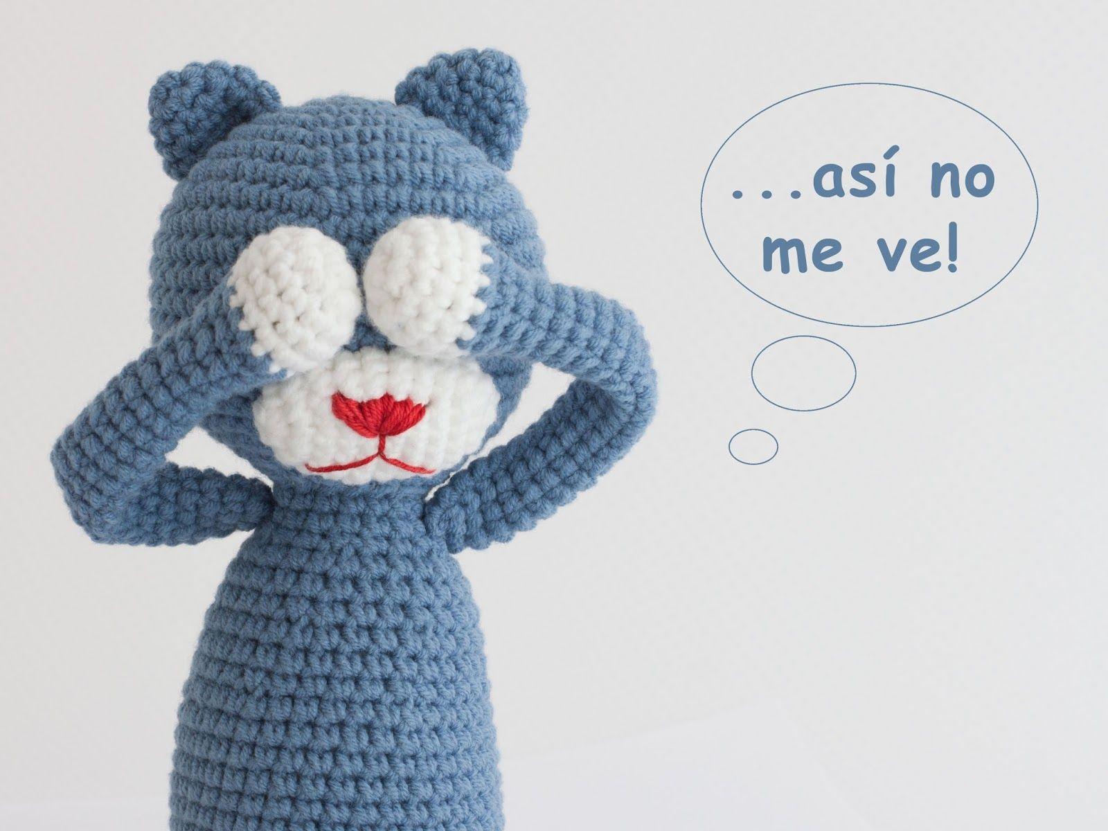 Mis PequiCosas: gato | manualidades | Pinterest | Ganchillo ...