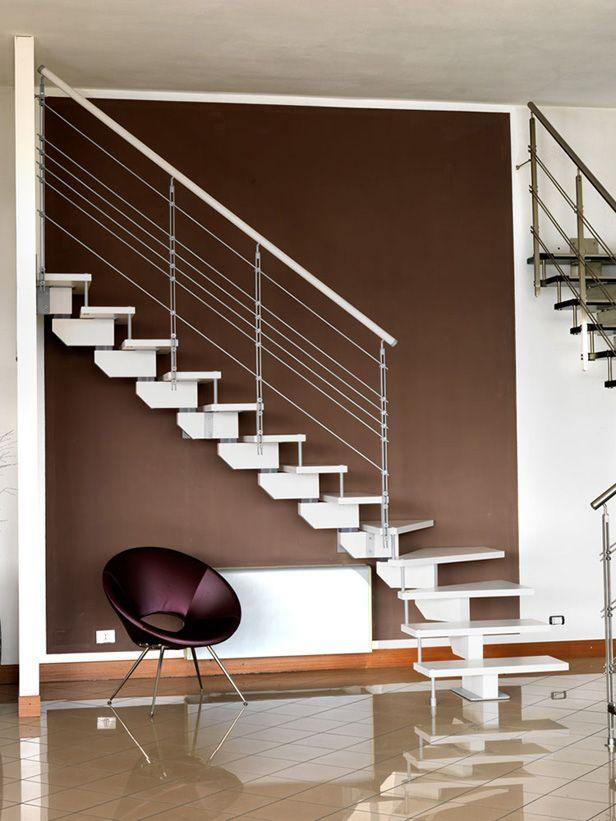 Best Cast One Jazz Iron Spiral Stairs Straight Stairs 400 x 300