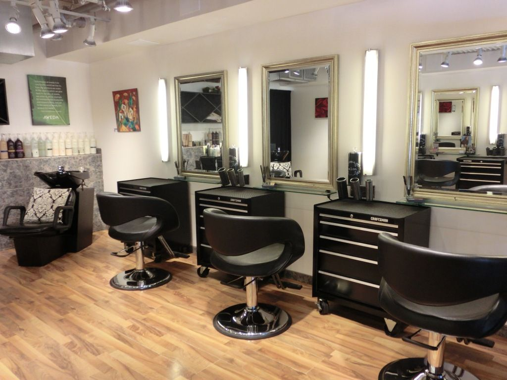 Salon interior design | Aveda Salon Interior | Small beauty ...