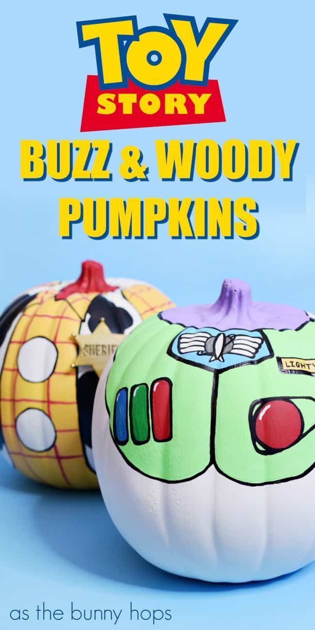 45+ Disney painted pumpkin ideas to try this Halloween! Save this collection of no-carve Disney pumpkins for crafty Fall inspiration! #paintedpumpkinideas