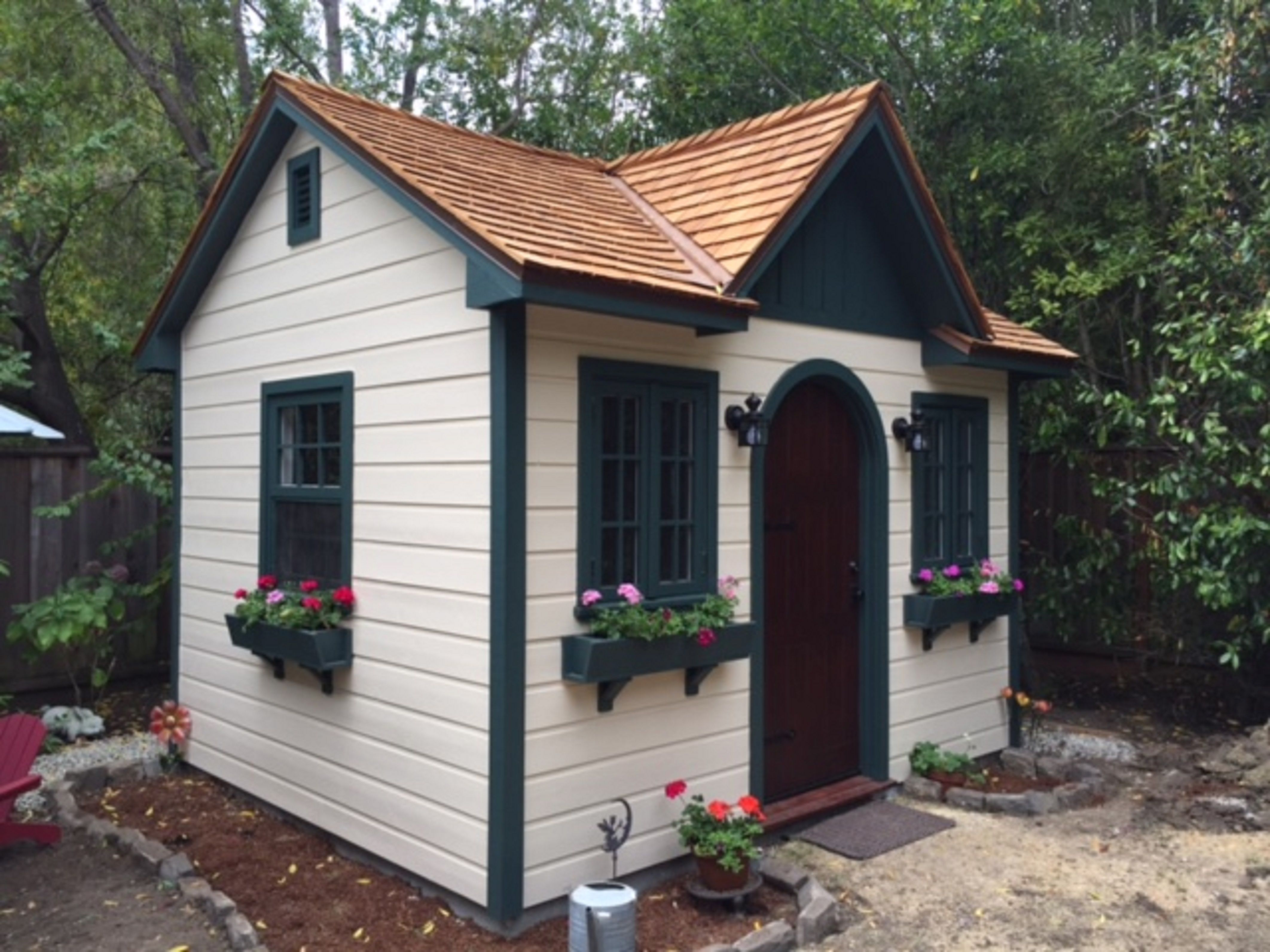 Palmerston Shed In Atherton California Garden Shed Interiors